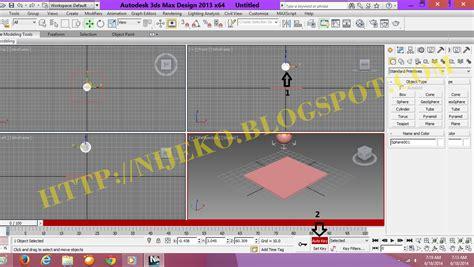 membuat animasi intro video cara membuat animasi 3d bola memantul di 3dsmax 2013