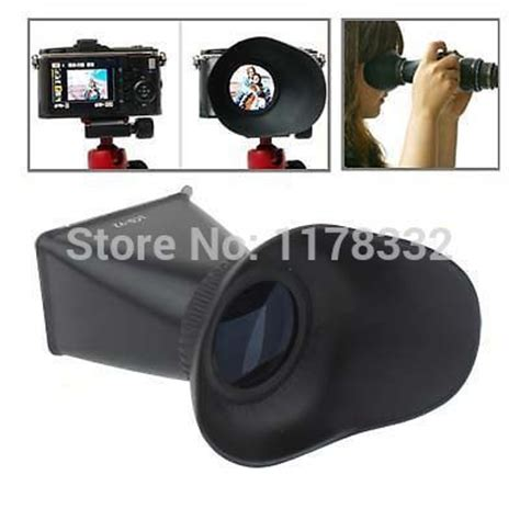 Lcd Viewfinder Tipe V3 new 2 8x magnifying glass magnifier lcd viewfinder v3 extender for 3 quot screen dslr