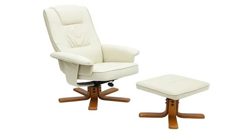 white reclining chair white faux leather recliner chair homegenies