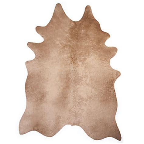 Faux Cowhide Rugs - faux fur rug rustic ayi faux cowhide rug z gallerie