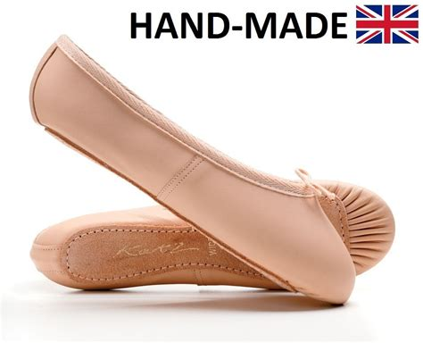Balet Import All Size pink soft leather sole ballet shoes all sizes by katz ebay