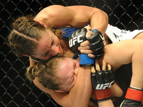 liz carmouche carano unlikely to last 10 seconds