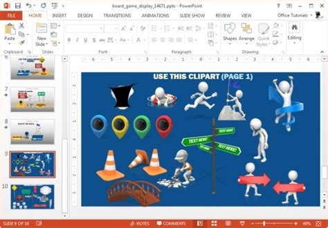 templates for powerpoint games animated board game powerpoint template