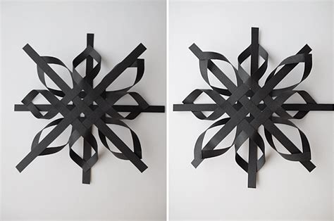 A Snowflake Out Of Paper - 3d snowflake out of paper diy craft projects