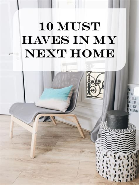 10 must haves in my next home keep it simple diy