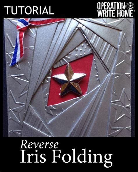 reverse star pattern in c 52 best iris folding tutorials images on pinterest iris