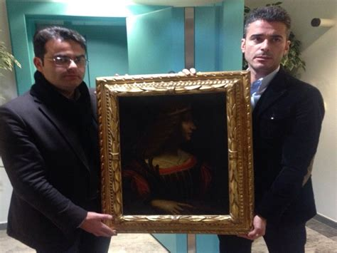 lade fotografiche sequestrato in svizzera in un caveau un dipinto attribuito