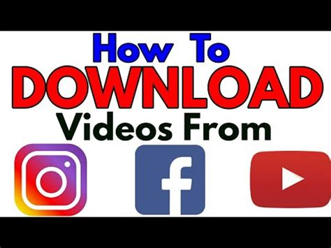 download youtube to instagram how to download videos from youtube facebook