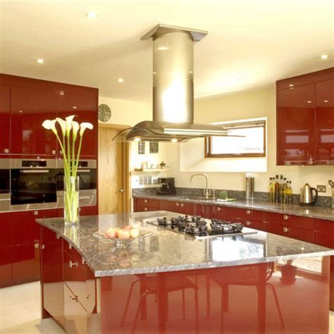 red kitchen decor ideas kitchen decoration modern architecture concept