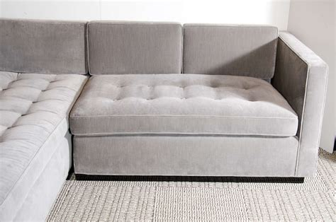 grey velvet sectional sofa fresh grey velvet sofa fabric 18893