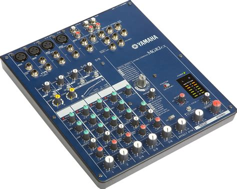 Mixer Yamaha 8 Channel yamaha mg82cx 8 channel stereo mixer with effects zzounds