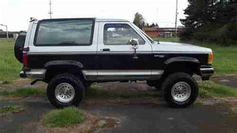 electric and cars manual 1989 ford bronco ii security system buy used 1989 ford bronco ii xlt sport utility 2 door 2 9l in cornelius oregon united states