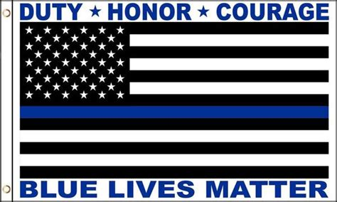 blue lives matter in the line of duty books blue lives matter thin blue line 3 x 5 flag sold by the