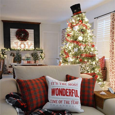 living home christmas decorations cottage christmas home tour with country living fox