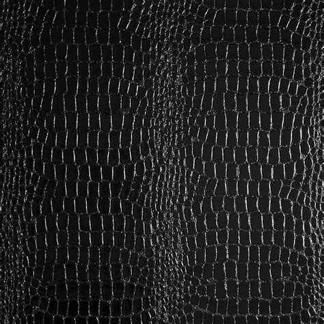 Upholstery Fabric Usa Luxury Faux Leather Croc Black Discount Designer Fabric