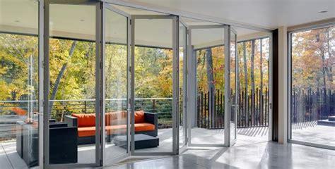 Wood Patio Gate Exterior Aluminum Folding Doors Lacantina Doors