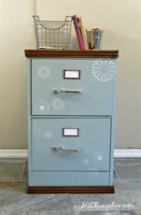 Upcycled Filing Cabinet Wood Trimmed Filing Cabinet Makeover H20bungalow