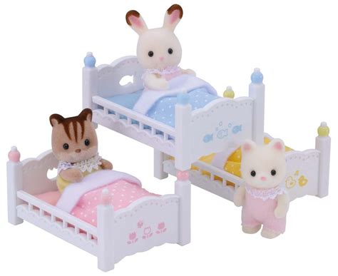 calico critters beds calico critters triple baby bunk beds kids girls play toy