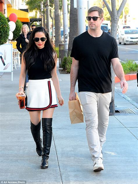 olivia munn boots those boots were made for strutting olivia munn teams