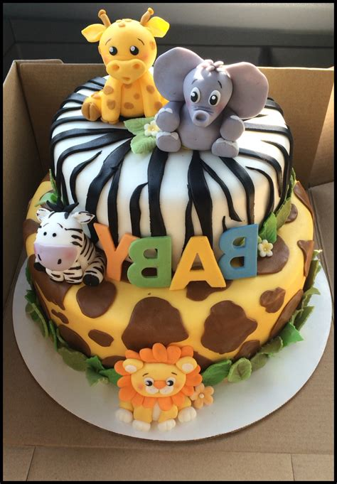 Make A Cake For Baby Shower by Safari Baby Shower Cake Pictures Baby Shower Cake