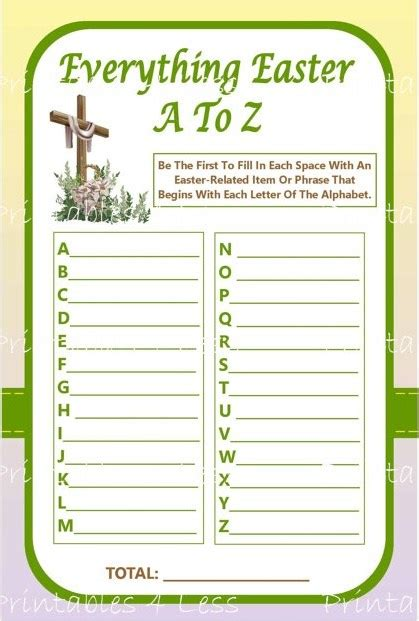 printable easter quiz easter activities for church religious easter ideas