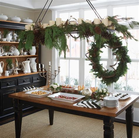 best holiday homes buffet table styling tips