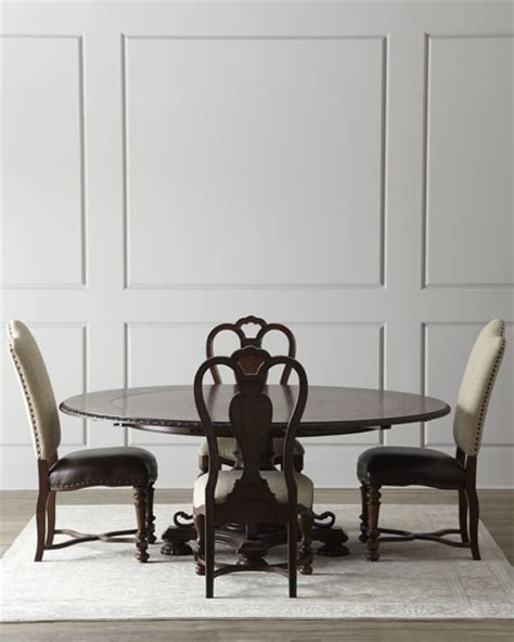 Horchow Dining Chairs Dining Room Chairs Leather Linen At Horchow