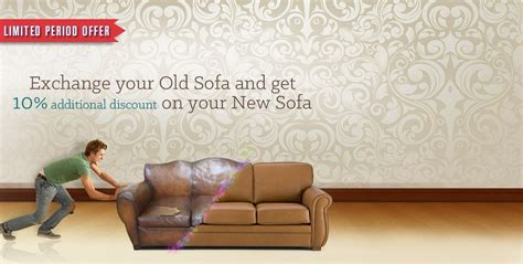 couch exchange exchange your old sofa and get flat 10 off on new at snapdeal