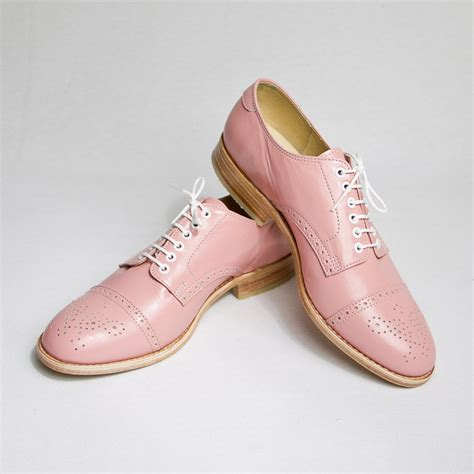 pastel oxford shoes pastel pink oxford brogue shoes free worldwide by goodbyefolk