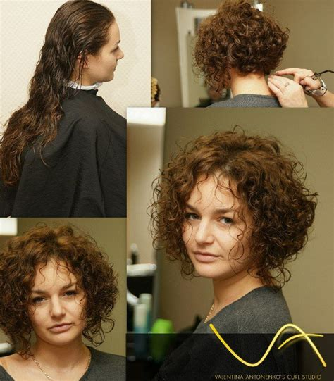 stacked hair with perm permed stacked bob short hairstyle 2013