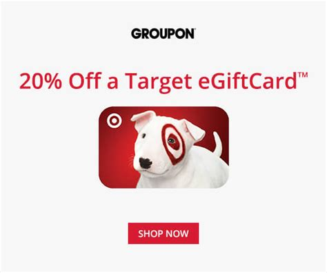 50 Off Target Gift Cards - target save 20 off a target e gift card pay 40 for 50 bargains to bounty
