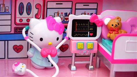imagenes de kitty con vestido avi 243 n y ambulancia de hello kitty con hospital mu 241 ecas y