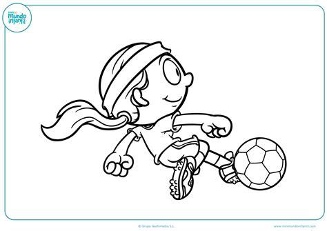 dibujos niños jugando futbol para colorear los mejores dibujos de f 250 tbol para colorear e imprimir