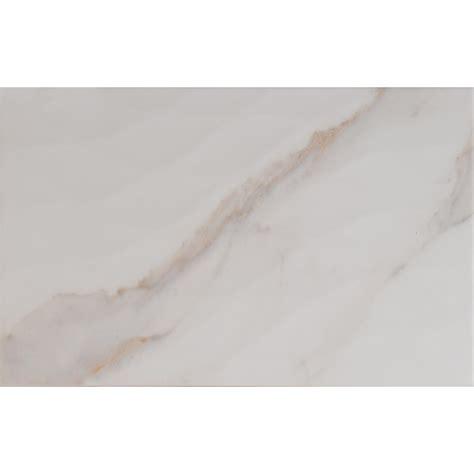 10 X 8 White Ceramic Tile by Ms International Kaleidoscope White 10 In X 16 In Glazed