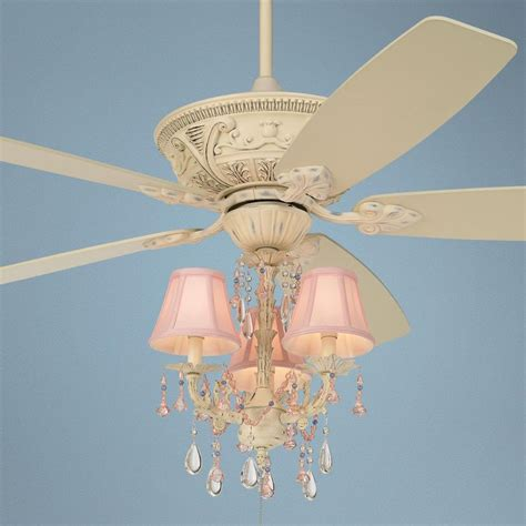 60 quot casa vieja montego pretty in pink light kit ceiling fan