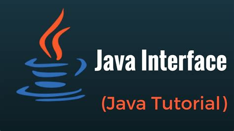 java tutorial on youtube java interface java programming tutorial youtube