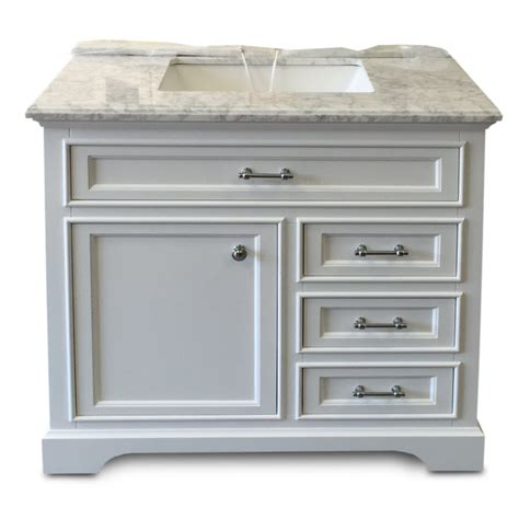 Home Surplus by Milan Collection White Bath Vanity 36inch X 21inch 1