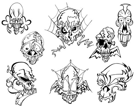 tattoo flash reddit mo skulls 2 tattoo flash by beejaydel on deviantart