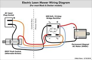 electric motor wiring diagram riding bike