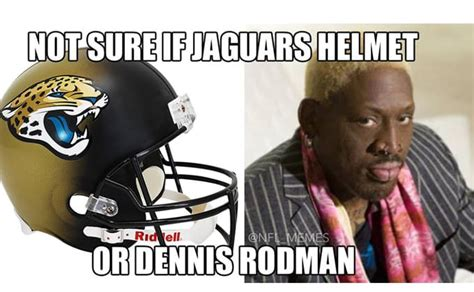 Dennis Green Meme - dennis rodman jaguars helmet these are the the funniest