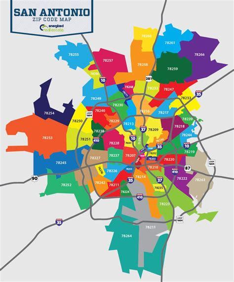 zip code map san antonio texas great zip code map of san antonio san antonio tx
