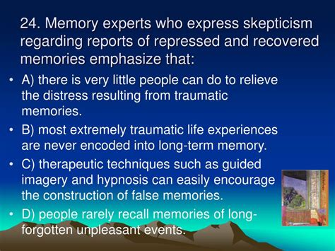memory warp how the myth of repressed memory arose and refuses to die books ppt step up to psychology by j schulte psy d