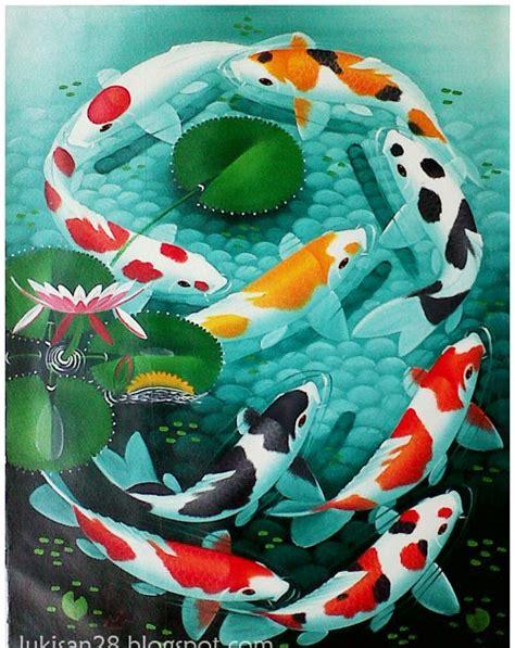 Lukisan Koi 2 lukisan ikan koi 9 kumpulan foto abg dewasa