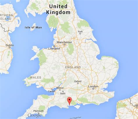 bournemouth  map england