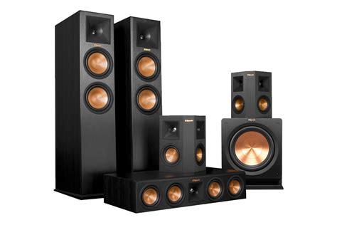 klipsch rp   home theatre speaker package digital