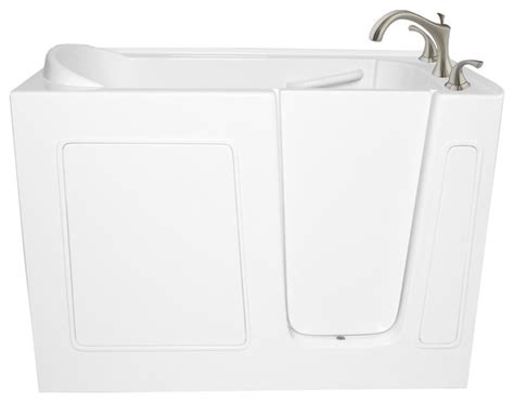 48 x 30 bathtub 48 quot x 30 quot ariel ezwt 3048 soaker left walk in ada