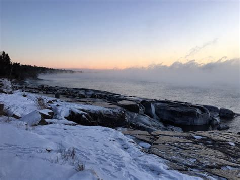 lake superior sea smoke lake superior writing retreats january 2016
