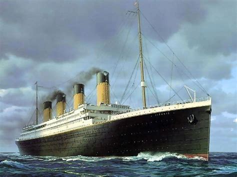 the sinking of the titanic 1912 oh they built the ship titanic three dot