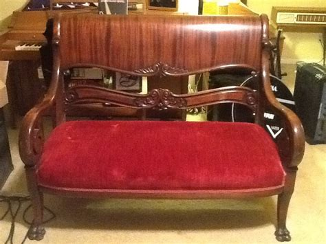 old settee collection settee with matching chair my antique furniture collection