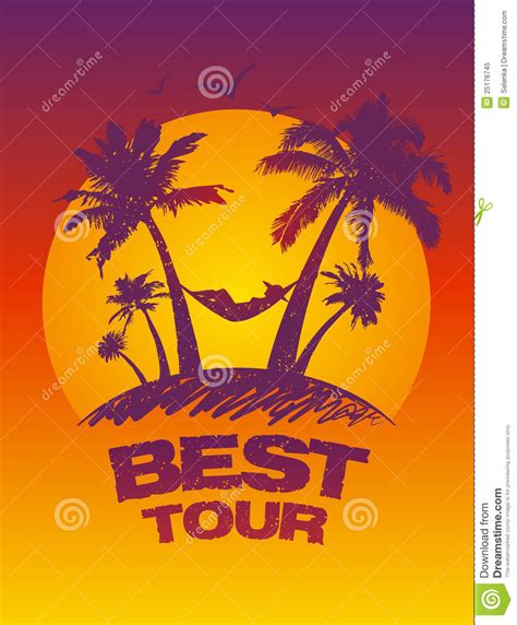 Tour Design Template by Best Tour Design Template Royalty Free Stock Photo